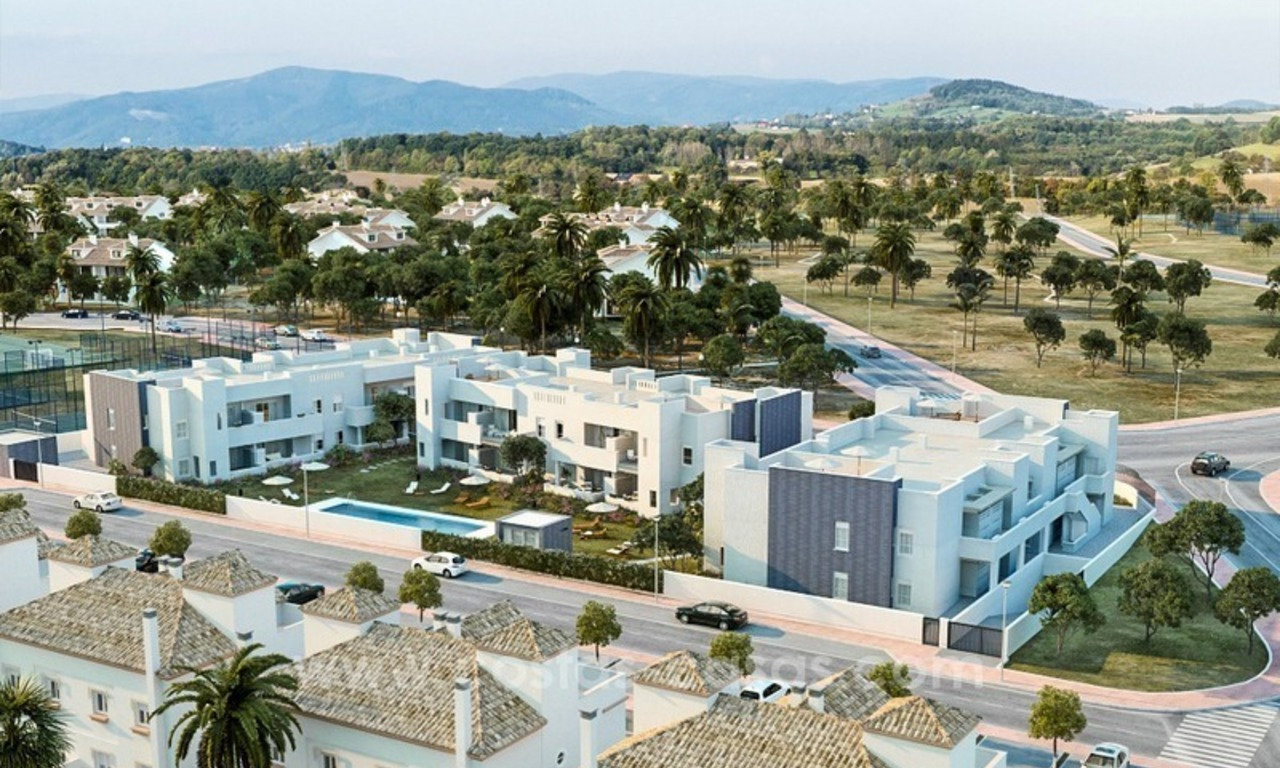 New modern 2 or 3 bedrooms apartments for sale in Nueva Andalucía, Marbella 2