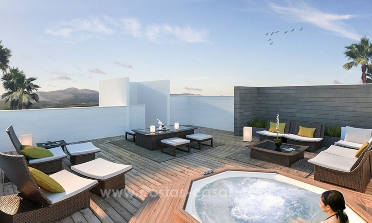 New modern 2 or 3 bedrooms apartments for sale in Nueva Andalucía, Marbella 3