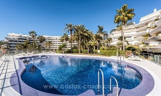 Exclusive upmarket frontline beach apartment for sale in Marbella center 5