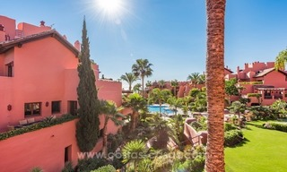 Beautiful frontline beach penthouse for sale on the New Golden Mile, in Estepona - Marbella 1