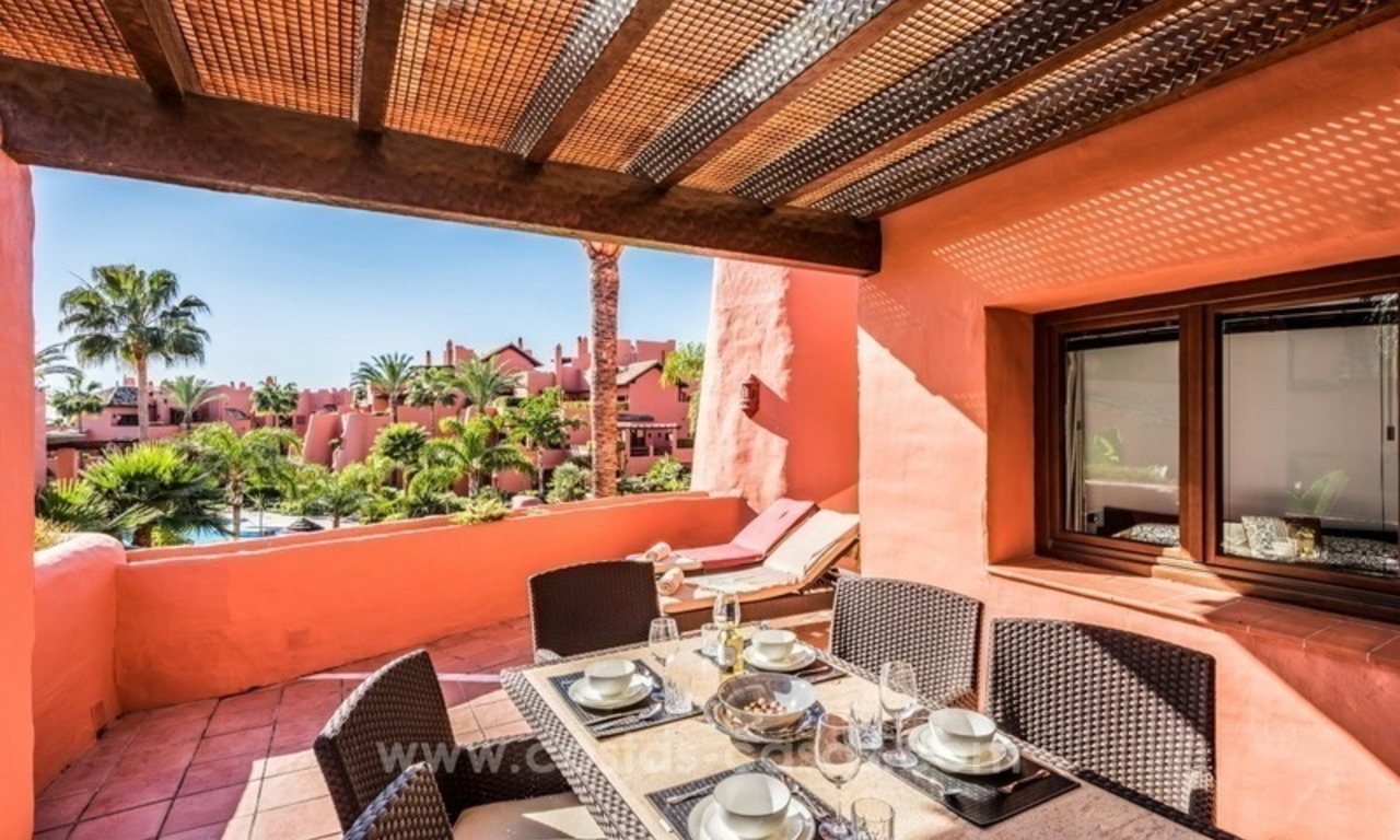 Beautiful frontline beach penthouse for sale on the New Golden Mile, in Estepona - Marbella 2