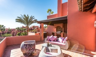 Beautiful frontline beach penthouse for sale on the New Golden Mile, in Estepona - Marbella 4