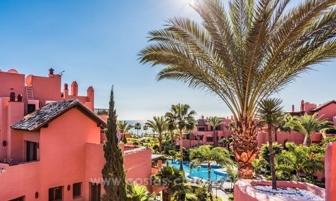 Beautiful frontline beach penthouse for sale on the New Golden Mile, in Estepona - Marbella