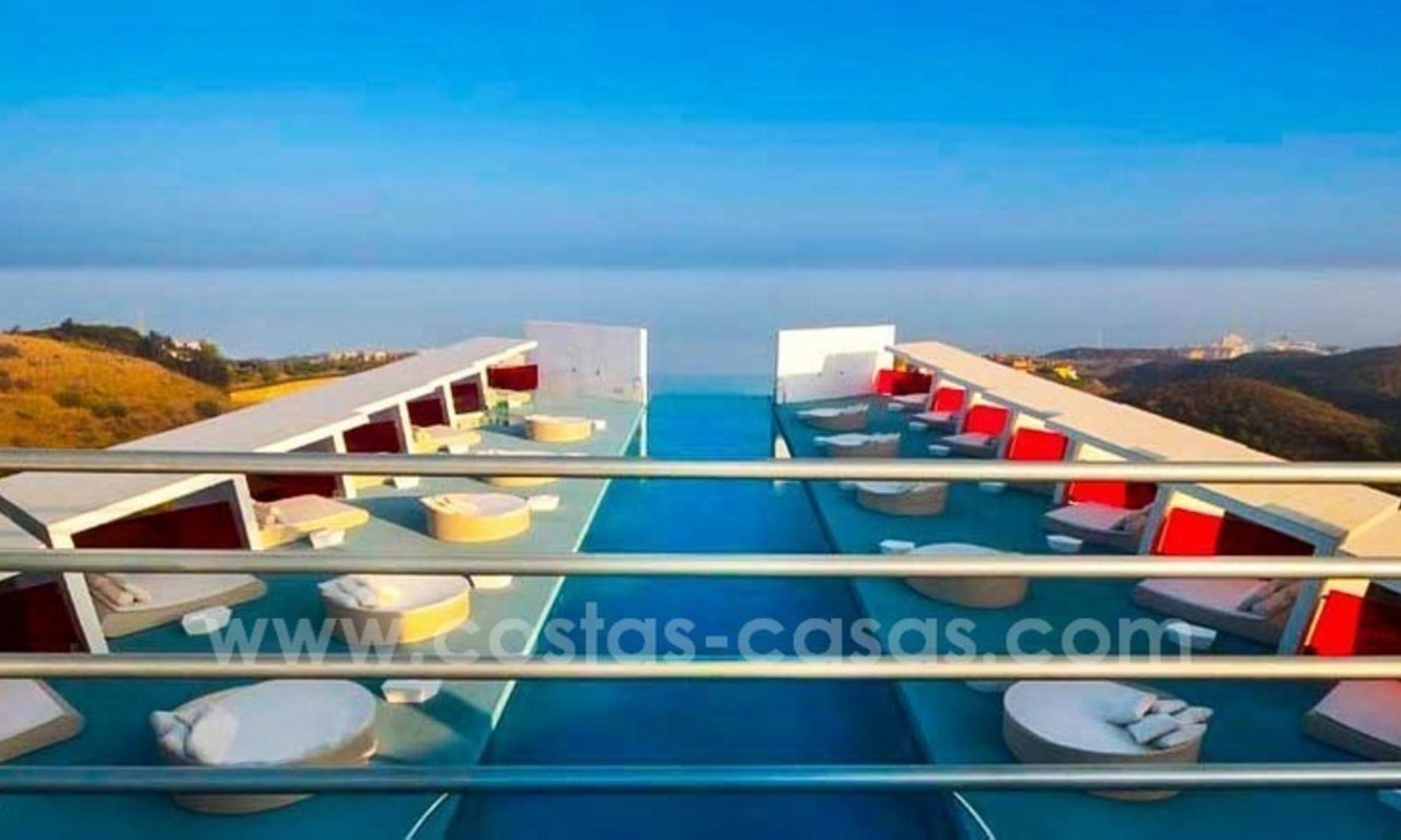 New luxury modern penthouses and apartments for sale in Benalmadena, Costa del Sol 12