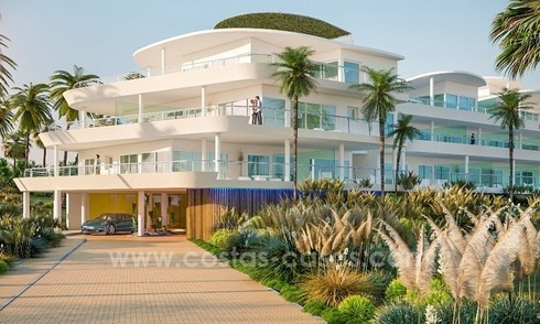 New luxury modern penthouses and apartments for sale in Benalmadena, Costa del Sol