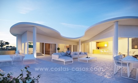 New luxury modern penthouses and apartments for sale in Benalmadena, Costa del Sol 2