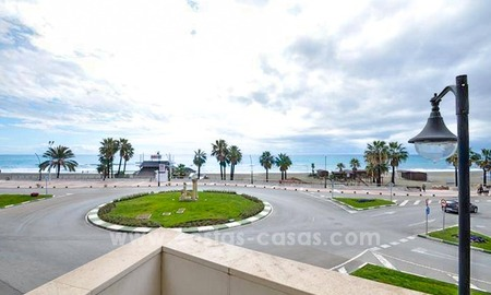 Modern beachfront apartment for sale, on the boulevard in the centre of Estepona 16