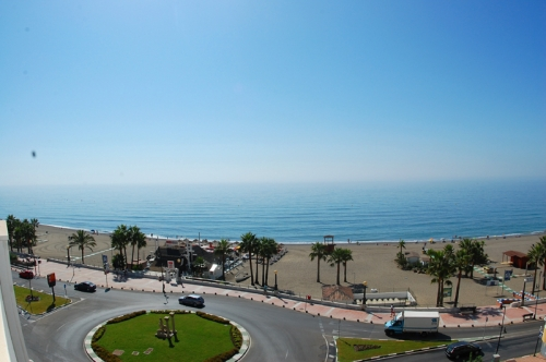 Modern beachfront apartment for sale, on the boulevard in the centre of Estepona