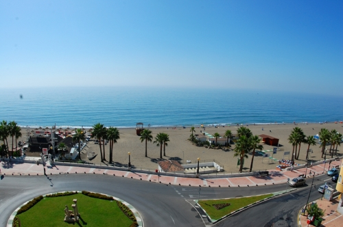 Modern beachfront apartment for sale, on the boulevard in the centre of Estepona 1