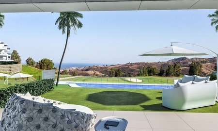 New luxury modern apartments for sale in Mijas golf resort, Costa del sol 2