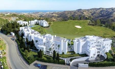 New luxury modern apartments for sale in Mijas golf resort, Costa del sol 0