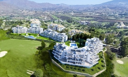 New luxury modern apartments for sale in Mijas golf resort, Costa del sol 1