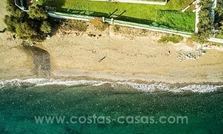 Beachfront plot with Villa Building Project for sale on the New Golden Mile, Marbella - Estepona 3