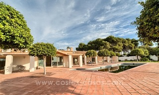 Beachfront plot with Villa Building Project for sale on the New Golden Mile, Marbella - Estepona 9