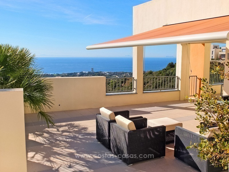 Luxury Modern Penthouse For Sale in Marbella