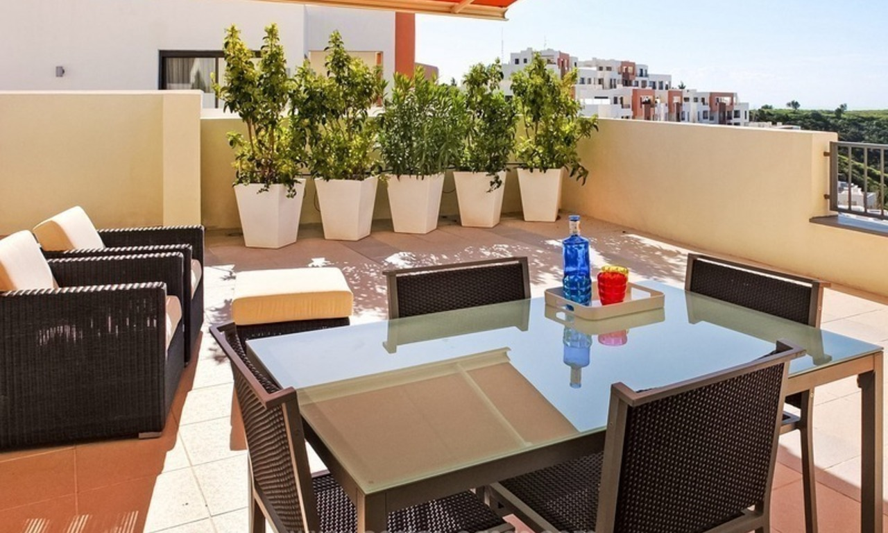 Luxury Modern Penthouse For Sale in Marbella 2