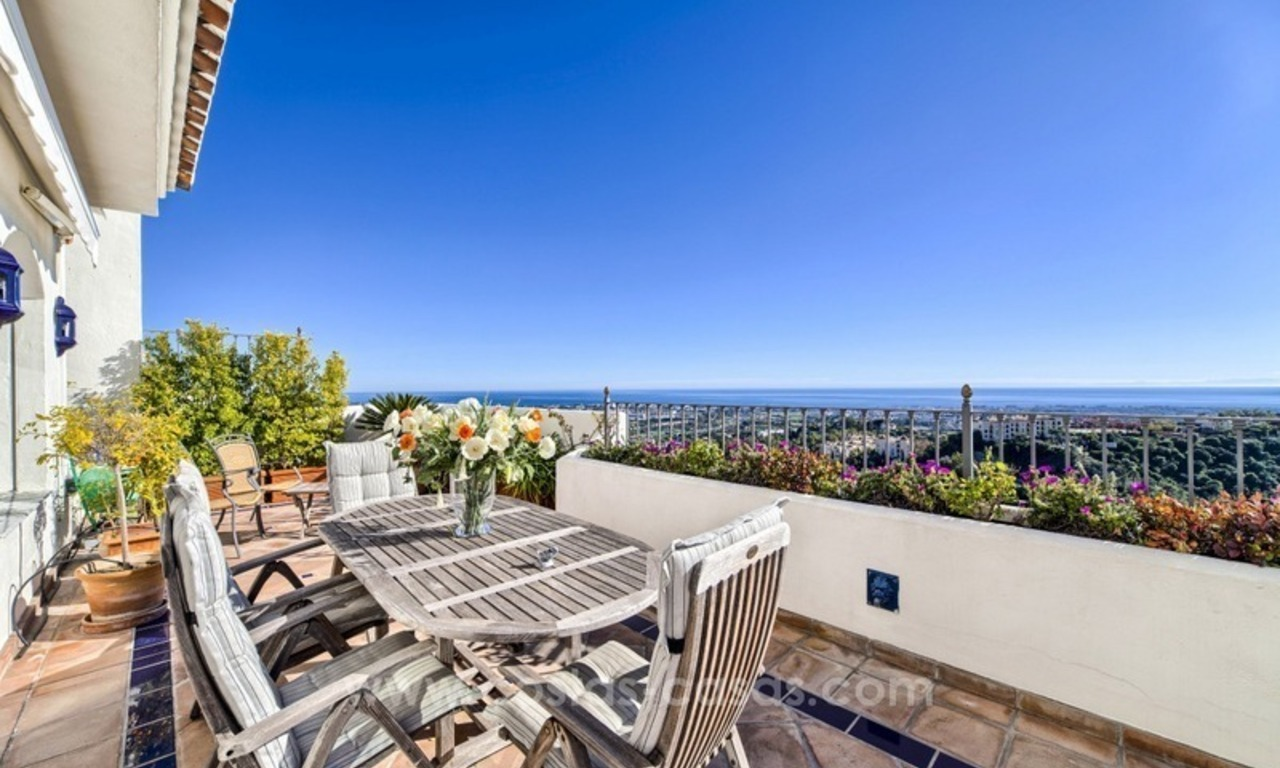 Top quality penthouse for sale in Benahavis - Marbella 0