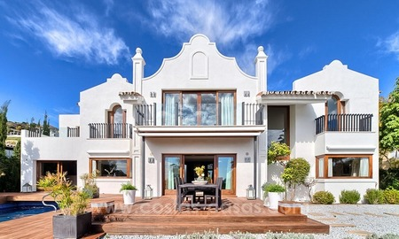 Modern renovated frontline golf villa for sale in Benahavis - Marbella 2