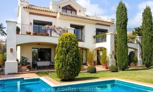 Exceptional villa with sea views for sale in Sierra Blanca, Golden Mile, Marbella