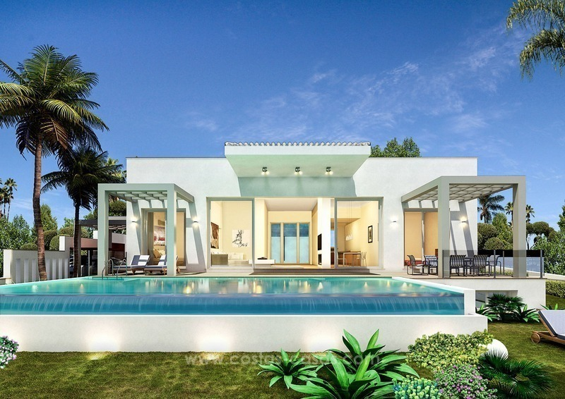 Luxury new modern villa for sale in Nueva Andalucía, Marbella