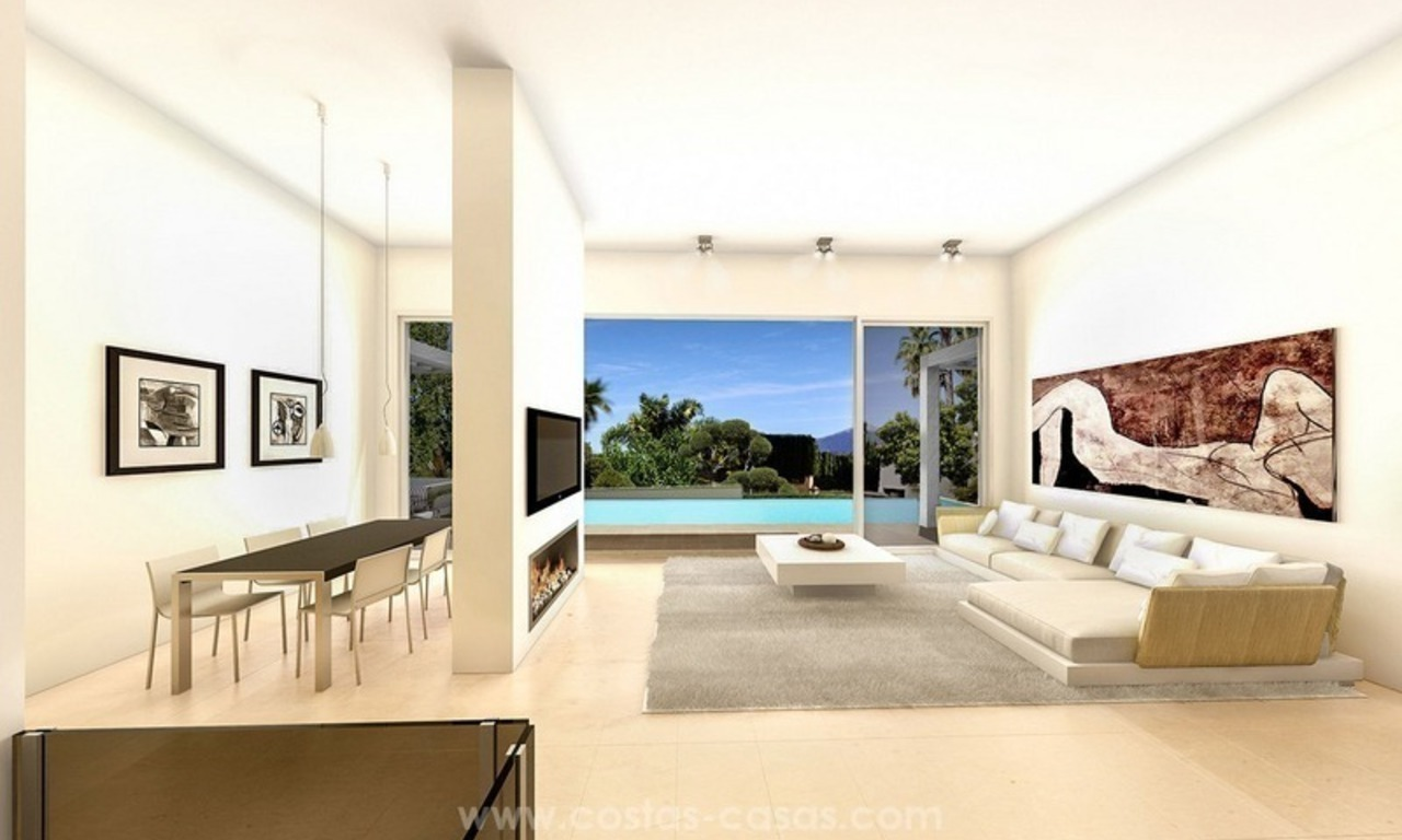 Luxury new modern villa for sale in Nueva Andalucía, Marbella 2