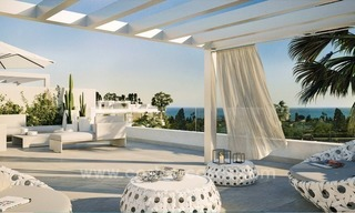 Brand new contemporary apartments for sale on the New Golden Mile, between Marbella and Estepona 0