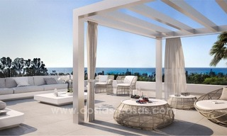 Brand new contemporary apartments for sale on the New Golden Mile, between Marbella and Estepona 1