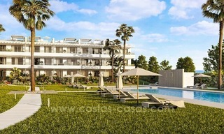 Brand new contemporary apartments for sale on the New Golden Mile, between Marbella and Estepona 2