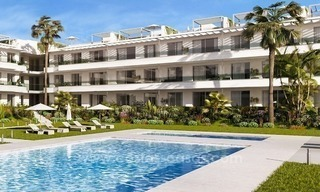 Brand new contemporary apartments for sale on the New Golden Mile, between Marbella and Estepona 3