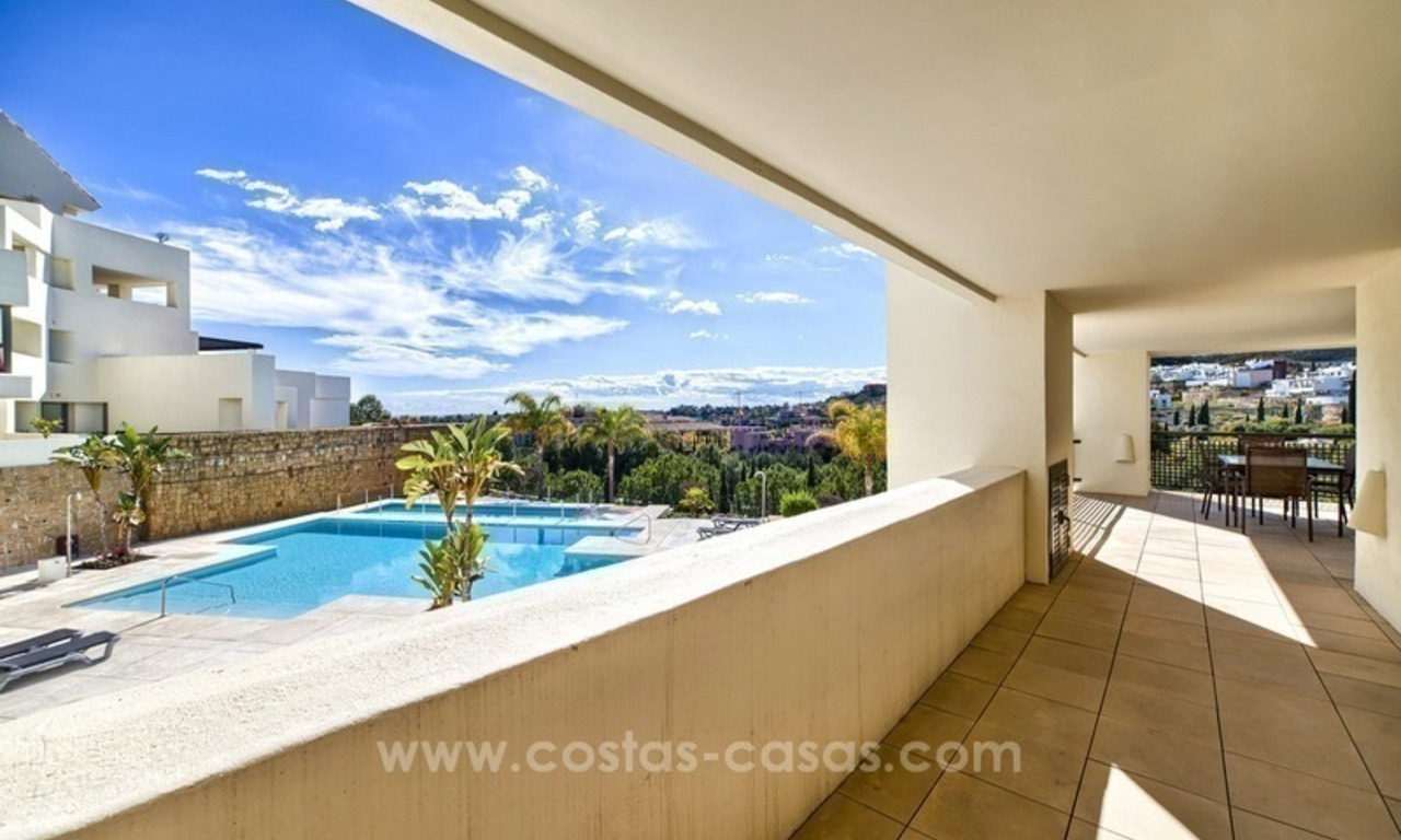For Sale: 2 Top Quality Modern Contemporary Apartments on a Golf Resort in Benahavís – Marbella 1