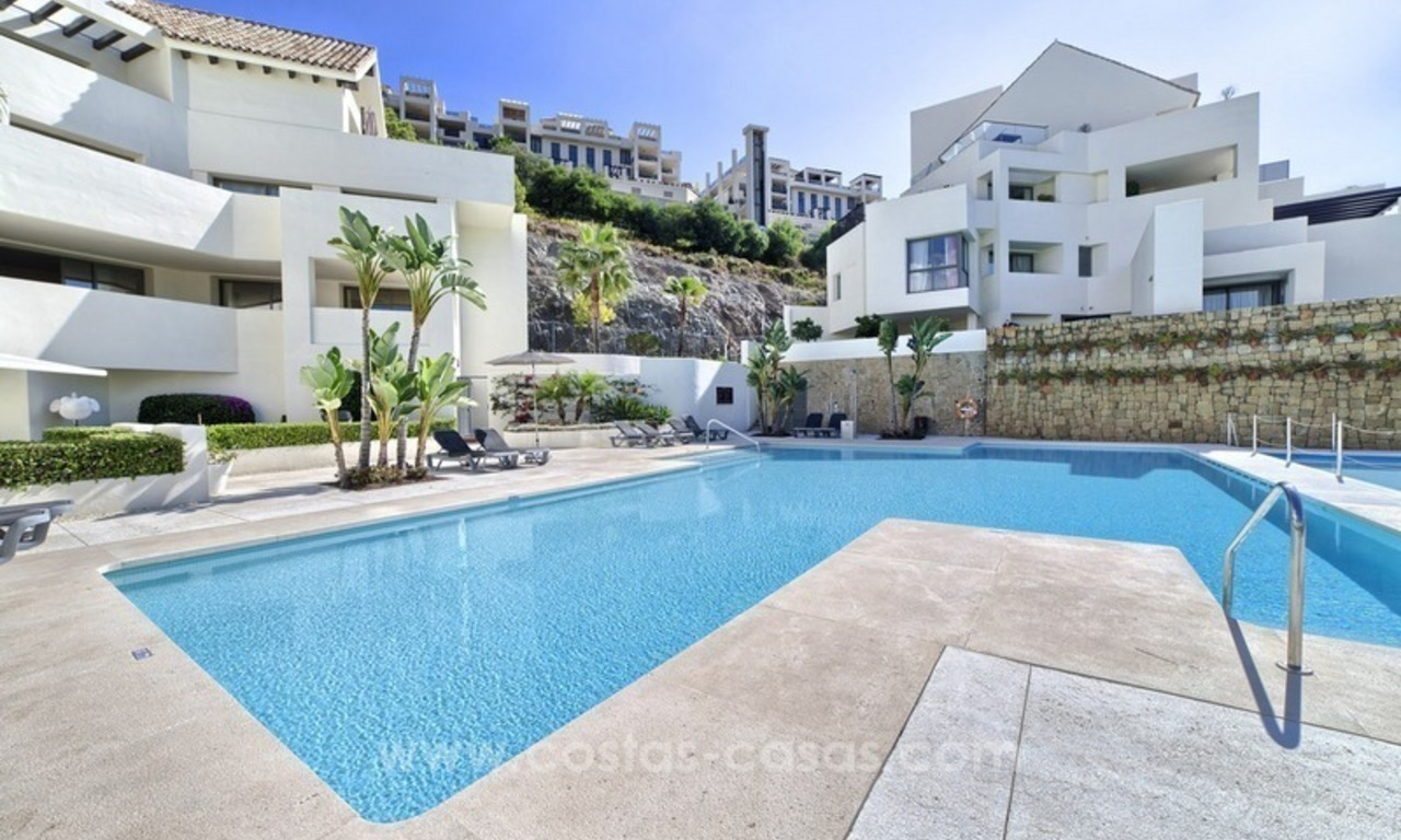 For Sale: 2 Top Quality Modern Contemporary Apartments on a Golf Resort in Benahavís – Marbella 9
