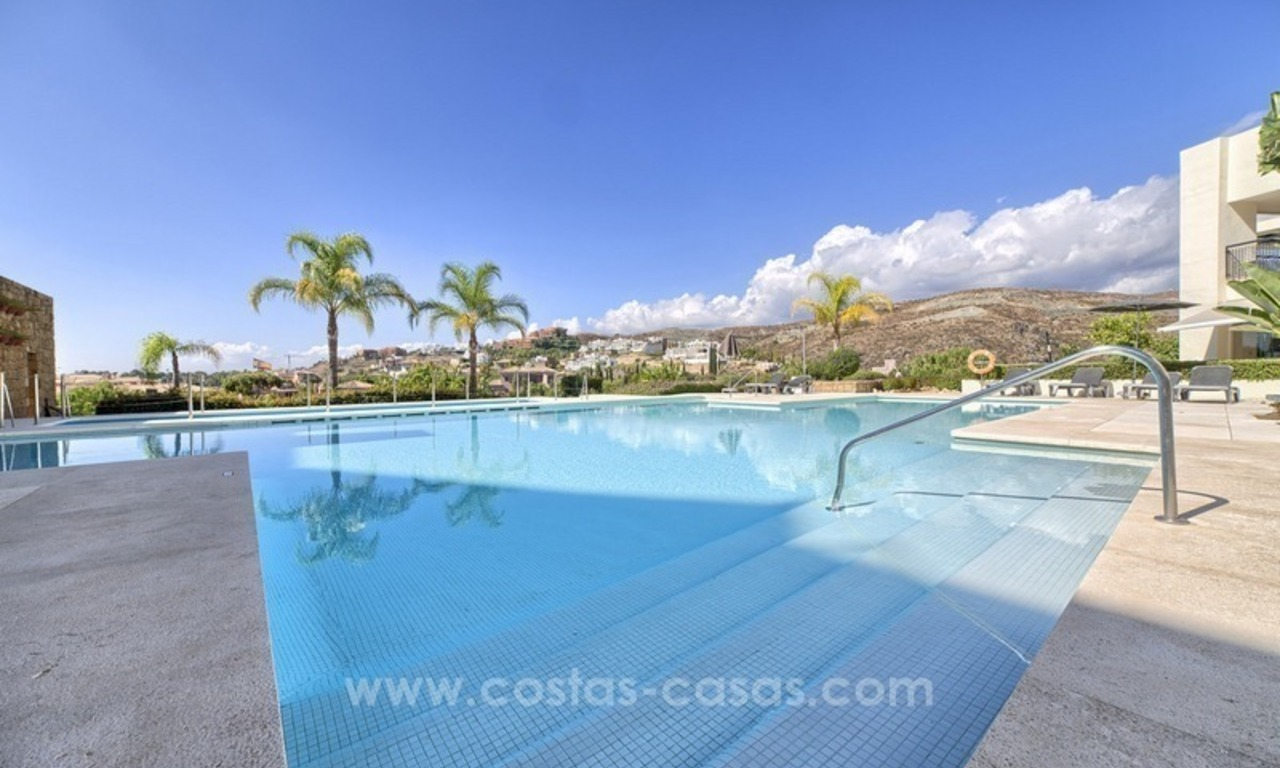For Sale: 2 Top Quality Modern Contemporary Apartments on a Golf Resort in Benahavís – Marbella 10