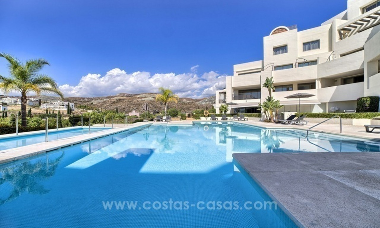 For Sale: 2 Top Quality Modern Contemporary Apartments on a Golf Resort in Benahavís – Marbella 11