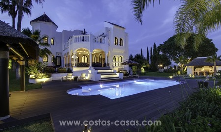 Marbella - Benahavis for Sale: Ultimate Panoramic Sea Views and Fully Refurbished Villa 409