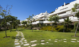 Panoramic sea view modern penthouse apartment for sale in Benahavis, Marbella 19981