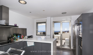 Panoramic sea view modern penthouse apartment for sale in Benahavis, Marbella 19986