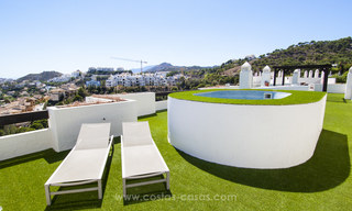 Panoramic sea view modern penthouse apartment for sale in Benahavis, Marbella 19991