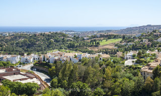 Panoramic sea view modern penthouse apartment for sale in Benahavis, Marbella 19995