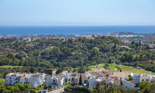 Panoramic sea view modern penthouse apartment for sale in Benahavis, Marbella 20001