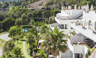 Panoramic sea view modern penthouse apartment for sale in Benahavis, Marbella 20003