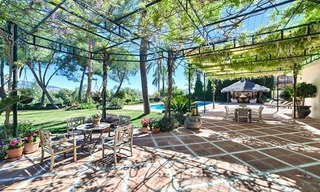 Exclusive frontline golf villa for sale, first line Golf, Nueva Andalucia, Marbella 5