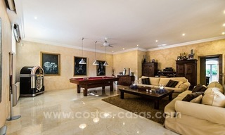 Exclusive frontline golf villa for sale, first line Golf, Nueva Andalucia, Marbella 22