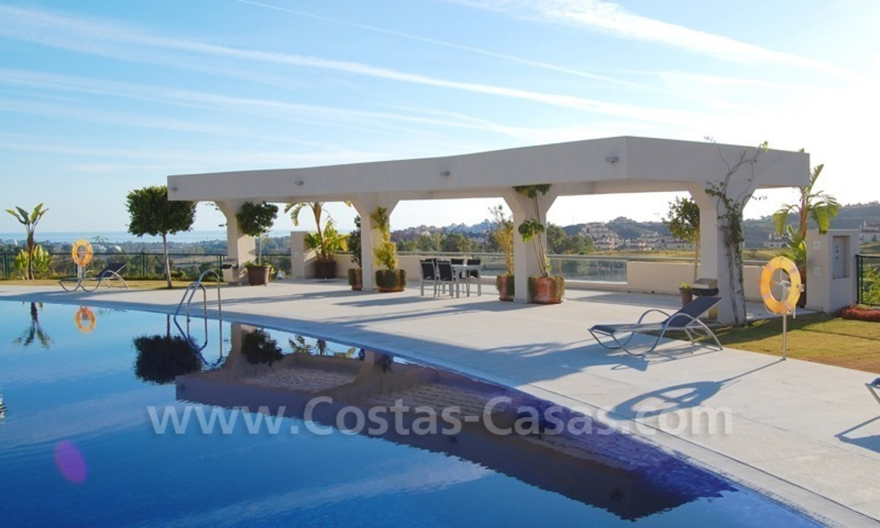 For Sale in the Marbella - Benahavís Area: Large Modern, Luxury Golf Apartment 2