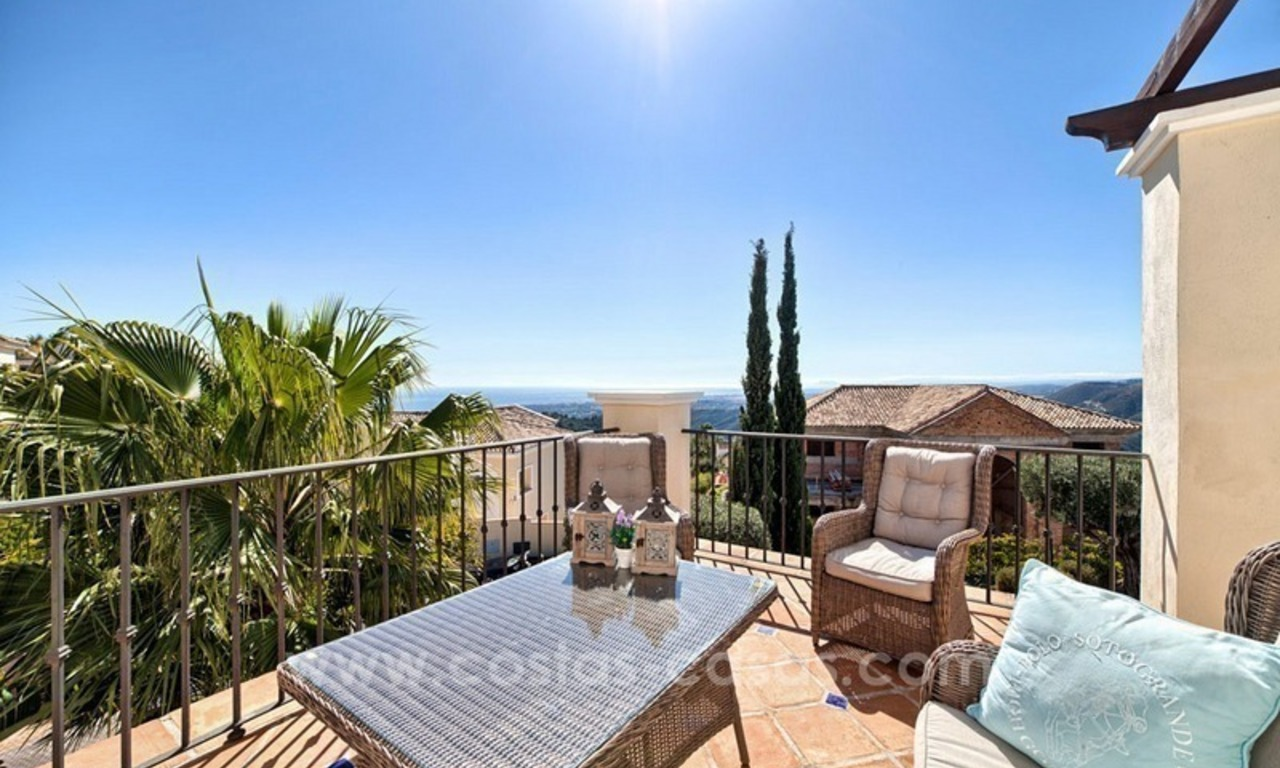 Luxury villa with amazing views for sale above the Golden Mile, Marbella 25