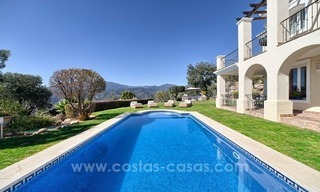 Luxury villa with amazing views for sale above the Golden Mile, Marbella 8