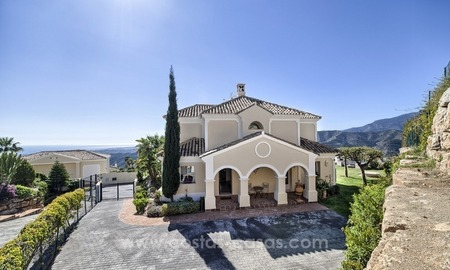 Luxury villa with amazing views for sale above the Golden Mile, Marbella 0