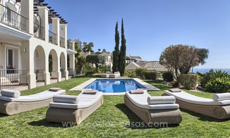 Luxury villa with amazing views for sale above the Golden Mile, Marbella 1