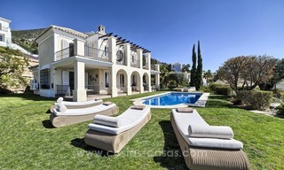 Luxury villa with amazing views for sale above the Golden Mile, Marbella 2