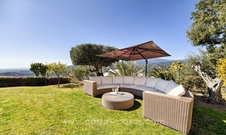 Luxury villa with amazing views for sale above the Golden Mile, Marbella 3