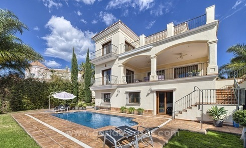 Luxury villa for sale with sea views in Benahavis, Marbella
